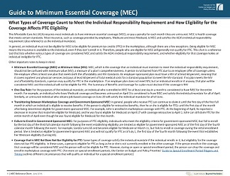 Minimum essential coverage reference chart beyond the basics - Minimum essential coverage plan design ...